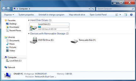 Module: How To Map a Drive in Windows 7 on