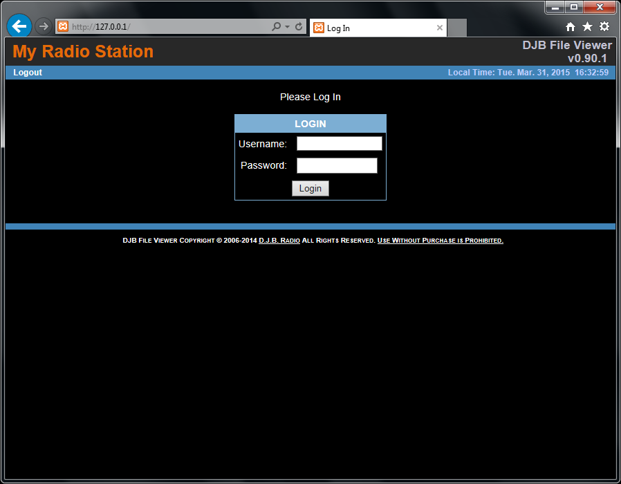 My time station login