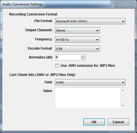 Topic: Audio Conversion